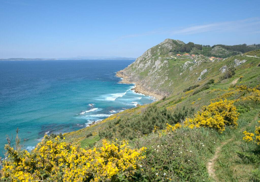 randonnée côtière en galice