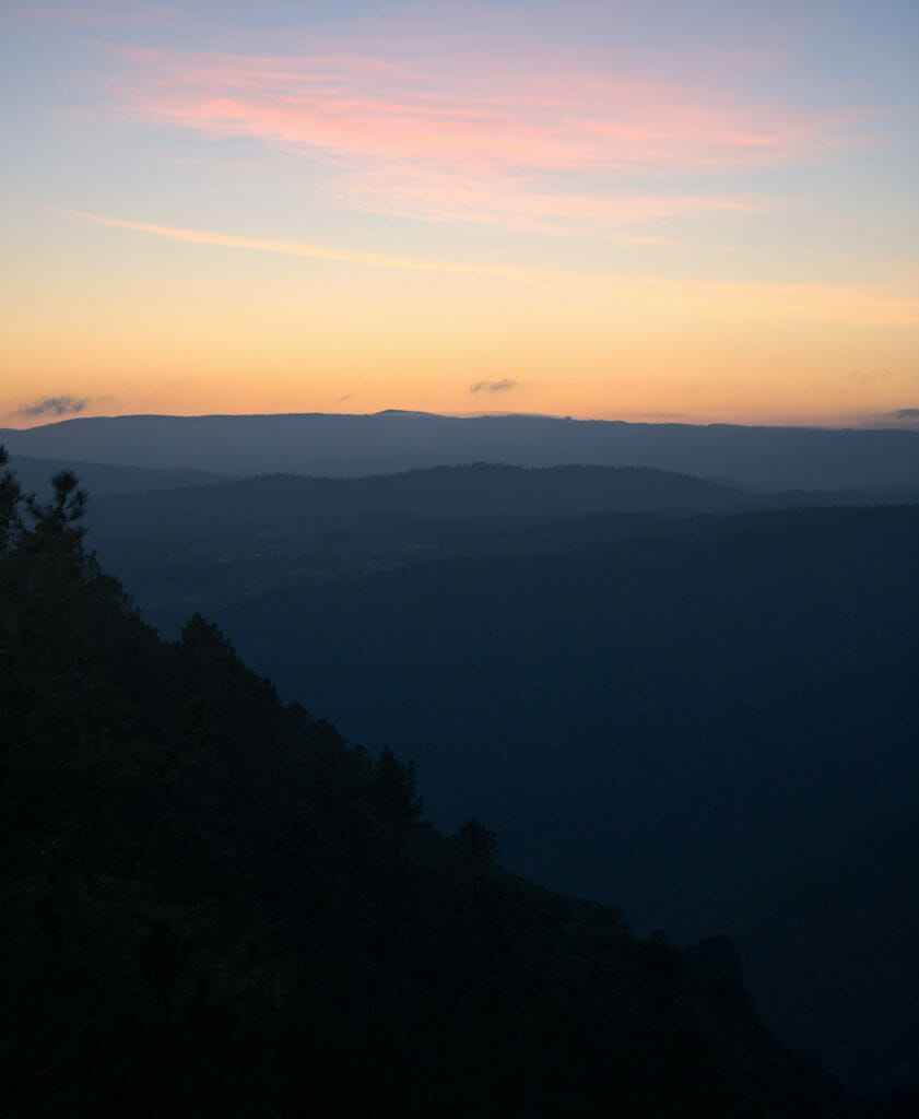 sunrise ribeira sacra