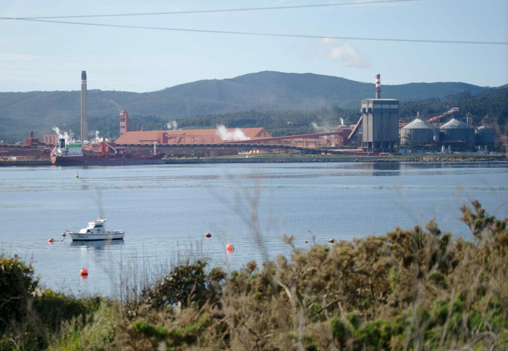 l'usine Alco en Galice
