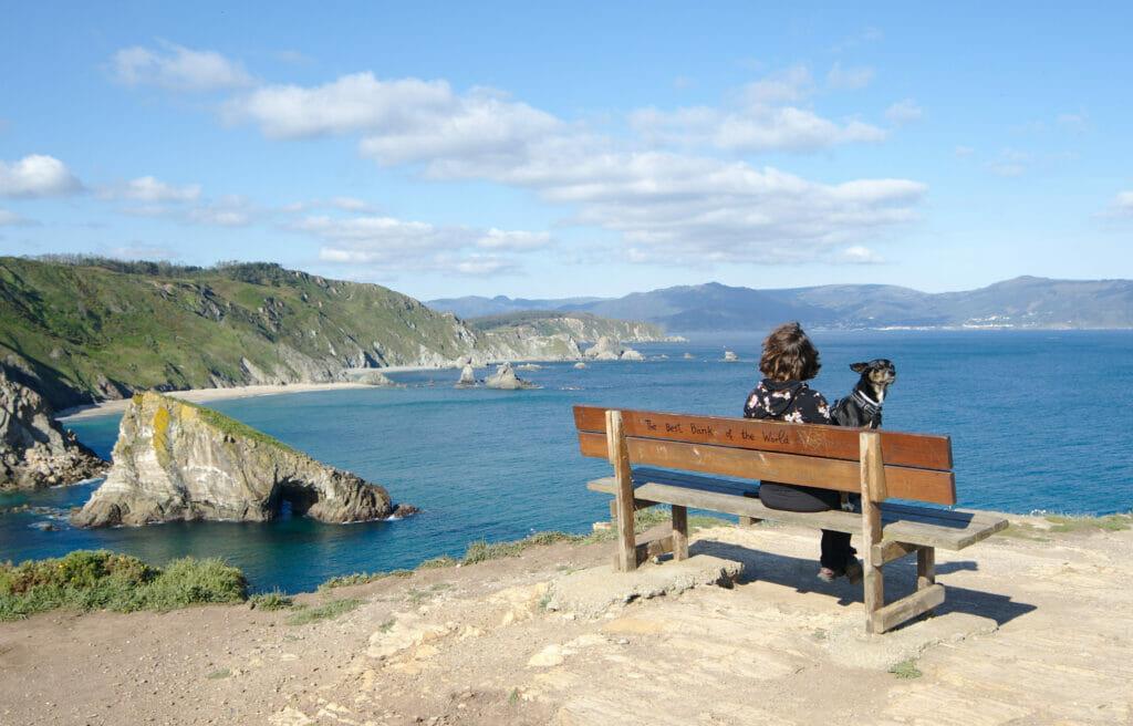 le meilleurs banc du monde en Galice