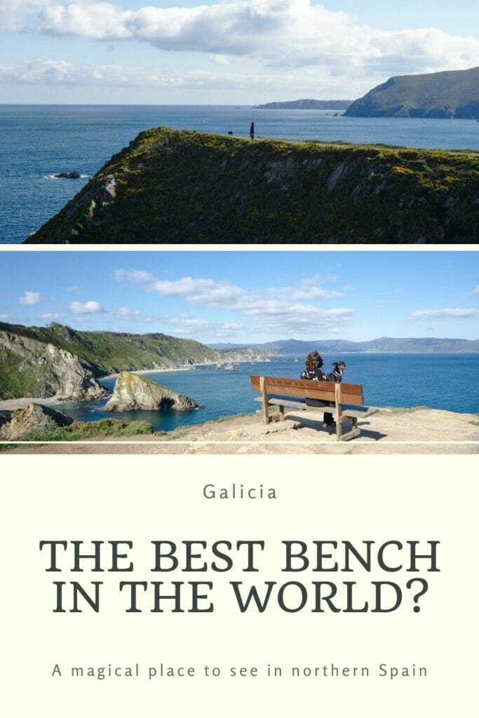 the best bench in the world is in Galicia