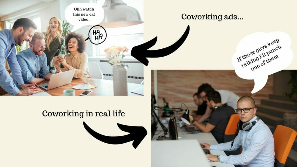 coworking ad