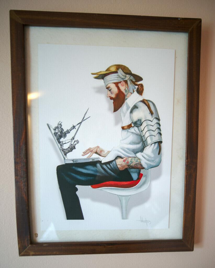 digital nomad art