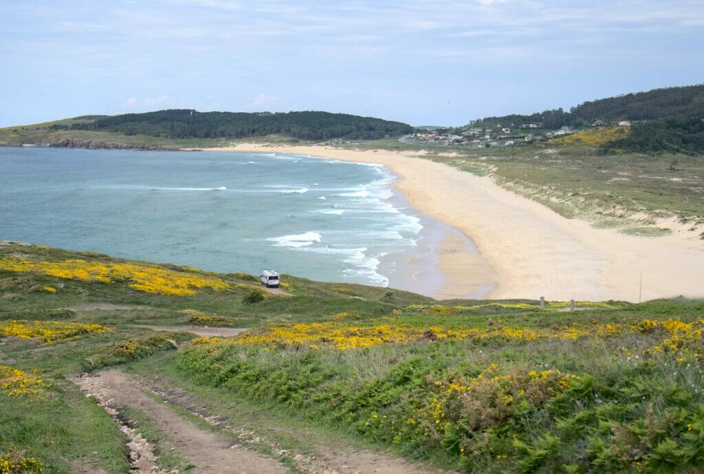 la plage de Doniños