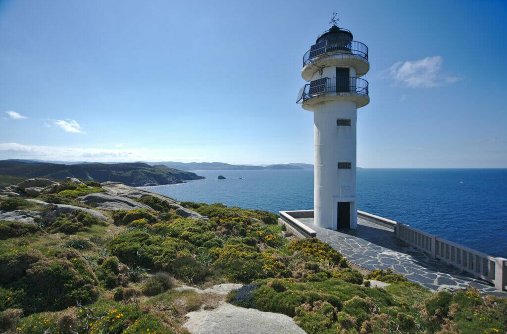 le phare de Roncadoira en Galice