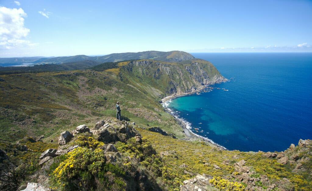 mirador chao do monte, nord de la Galice