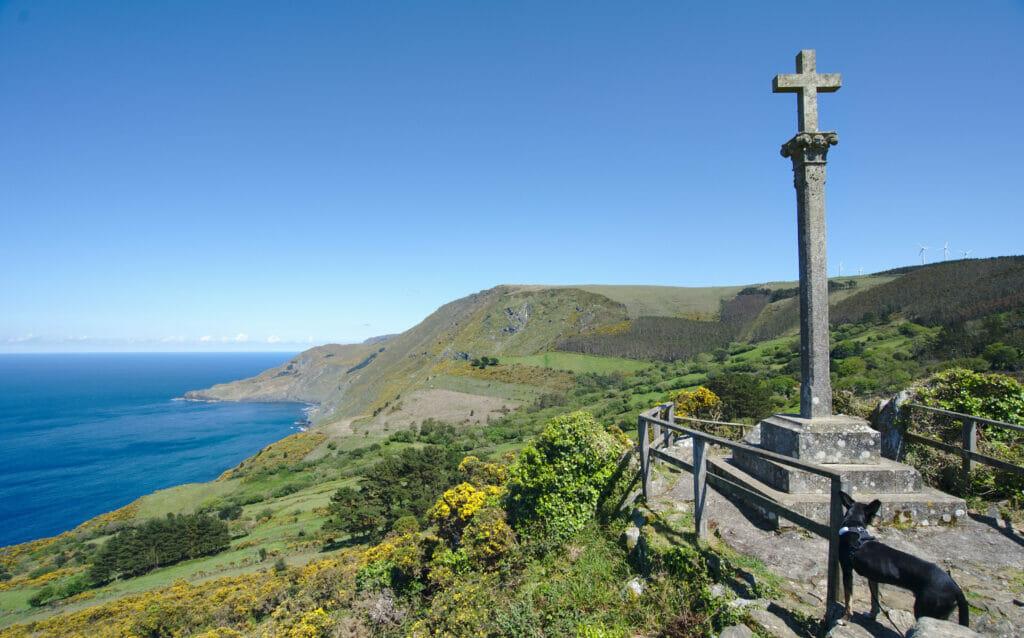 la croix de Teixido, nord de la Galice