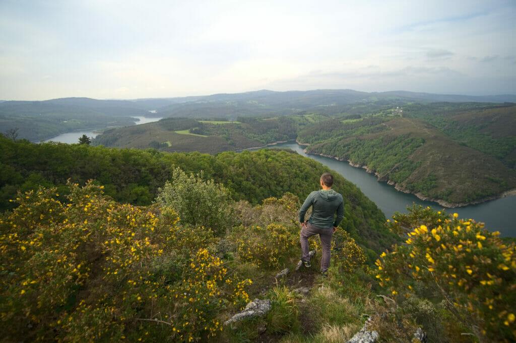 mirador da carbueira en Galice