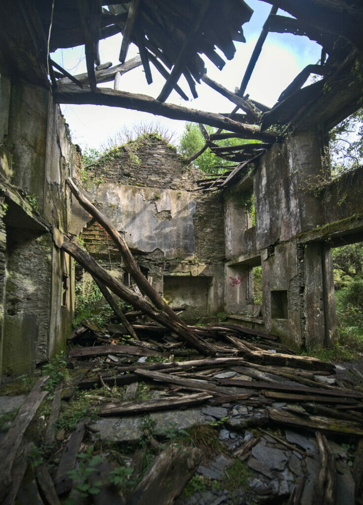 maison abandonnée Galice