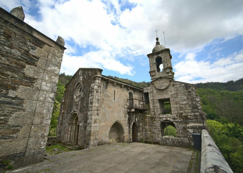 monastère de Caaveiro Galice
