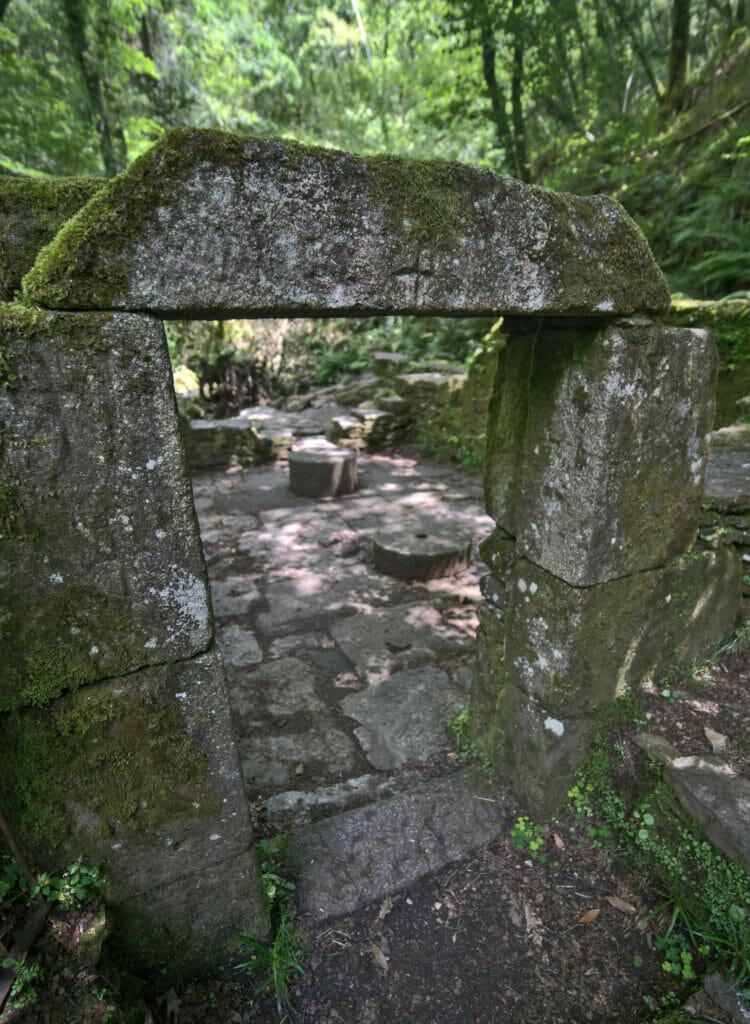 le moulin du monastère de Caaveiro