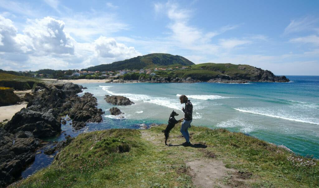 plage de O Rio sur les Rias Altas en Galice