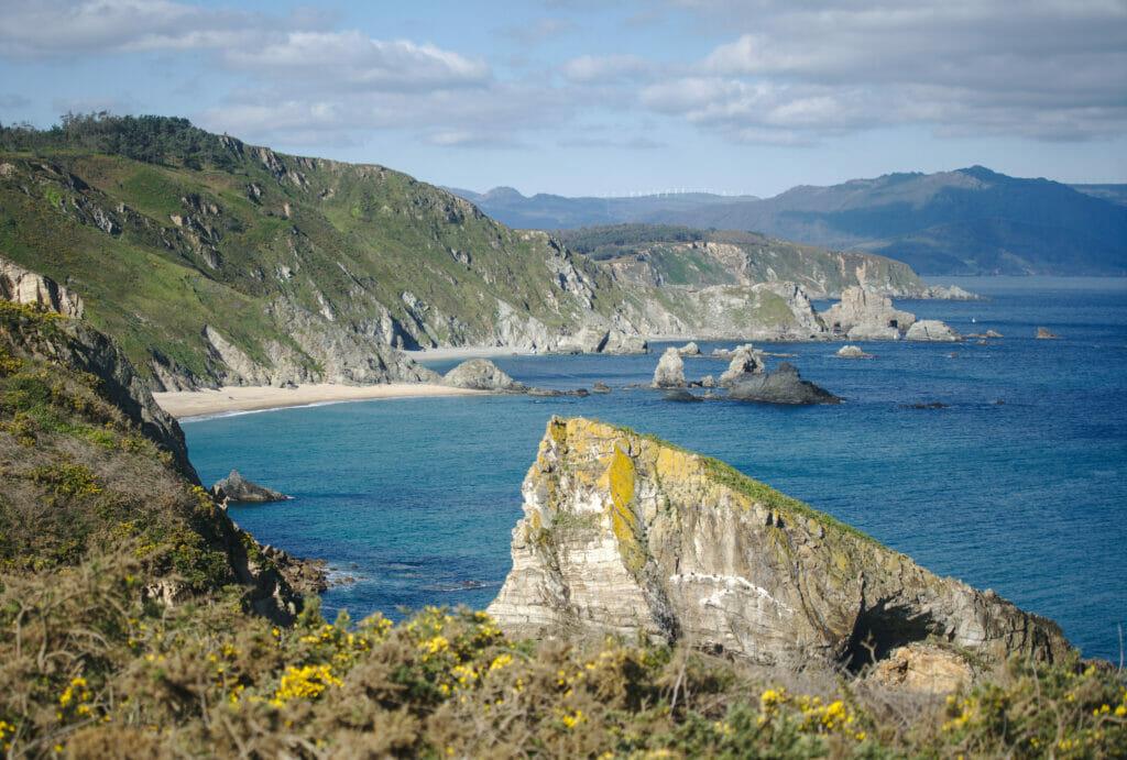 rias altas et côte nord de Galice