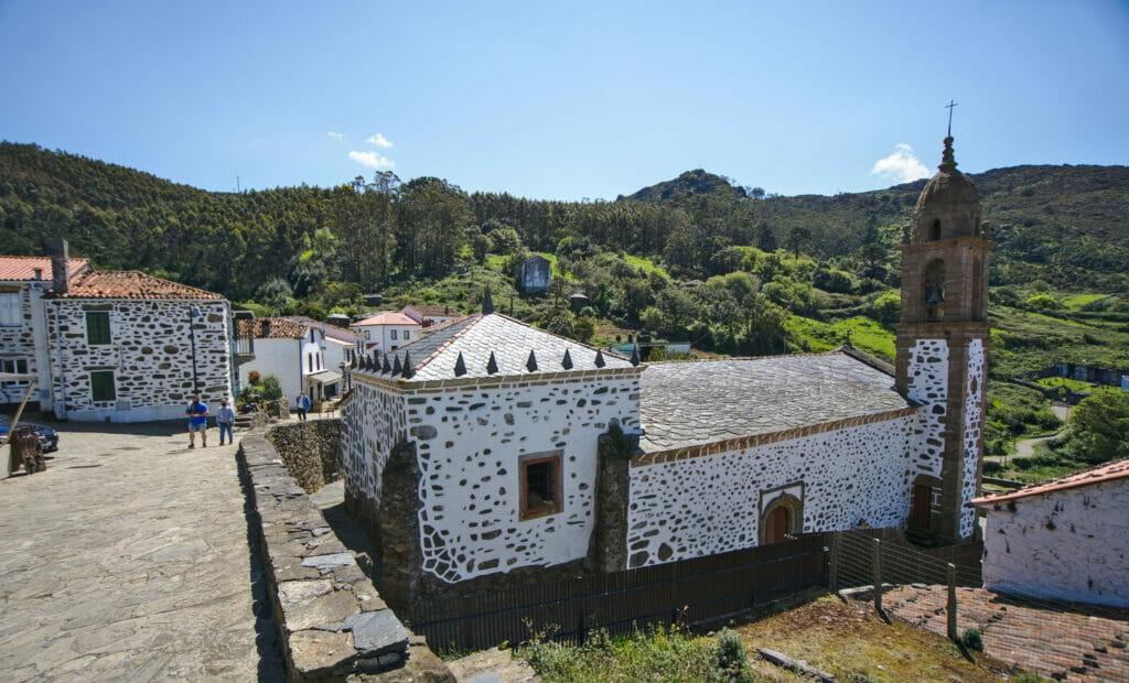 le sanctuaire de San Andres de Teixido