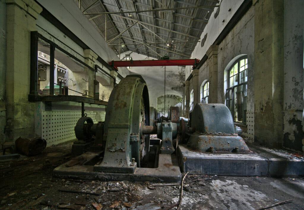 vieille usine électrique fragas do Eume