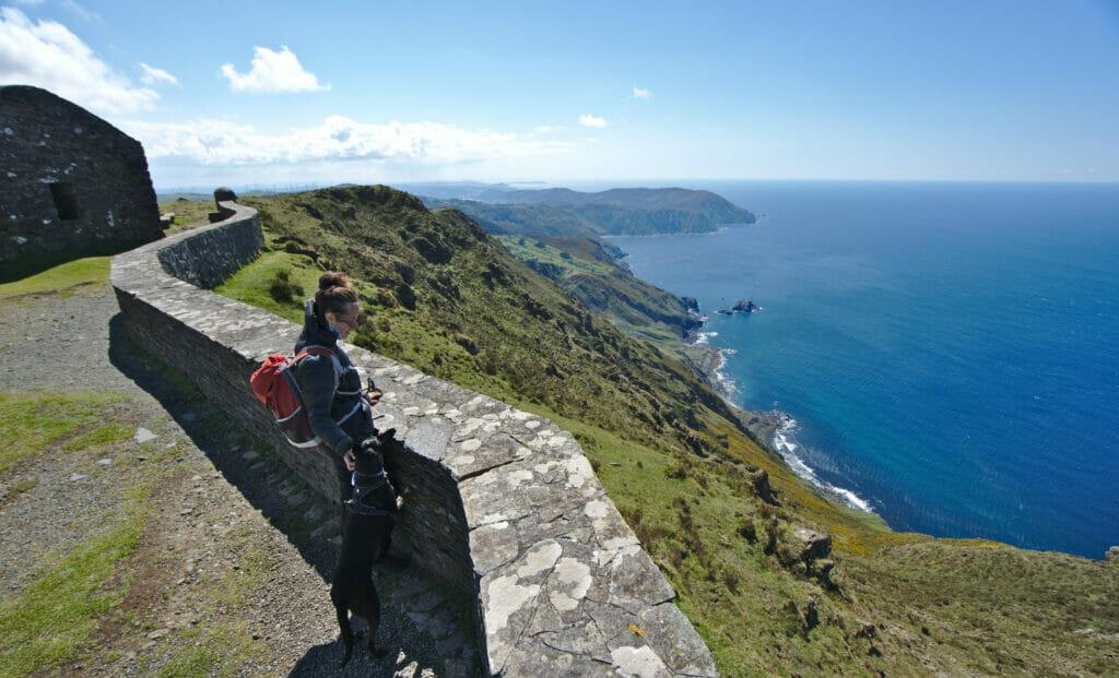 le point du vue Vixia de Herbeira au nord de la Galice
