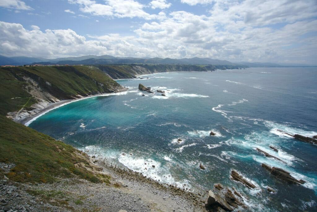 côte nord espagnole