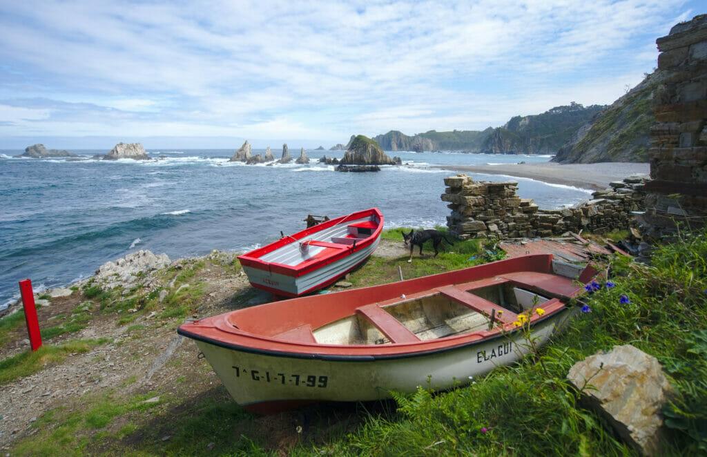 crique rocheuse asturies