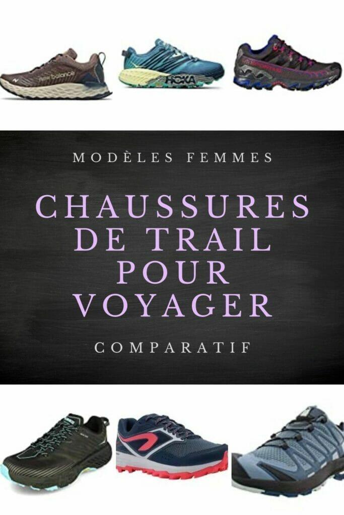 meilleures chaussures de trail femme