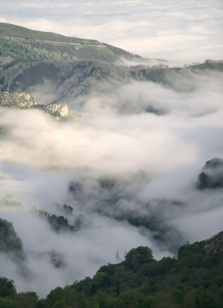 montée aux lacs de covadonga