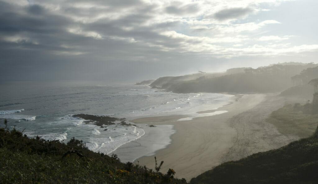 plage dans les asturies