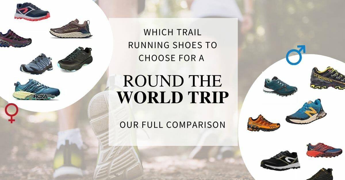 comparison best trail running shoes