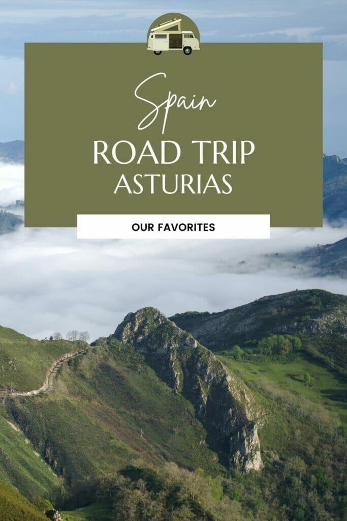road trip asturias