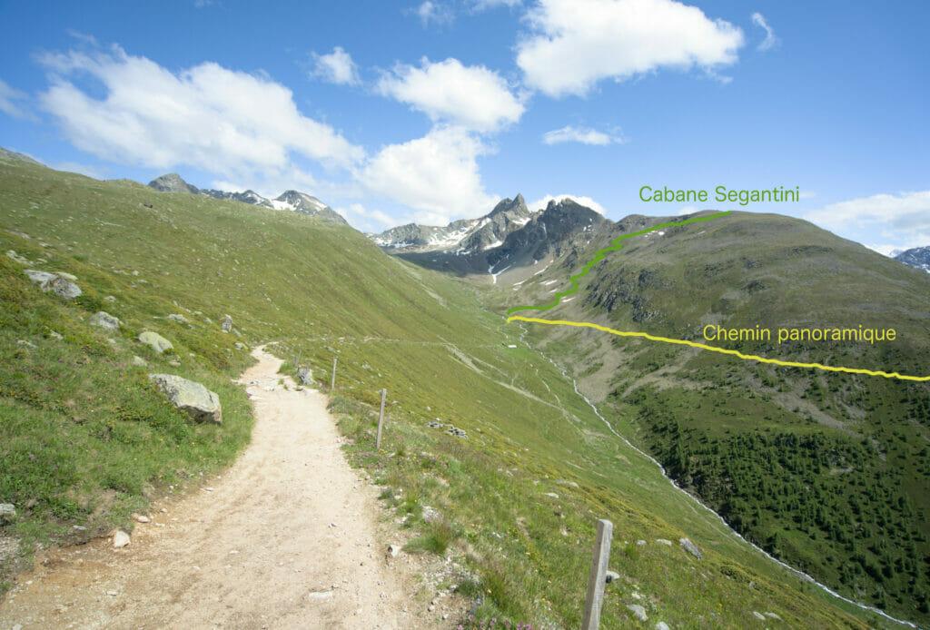 chemin panoramique muottas muragl