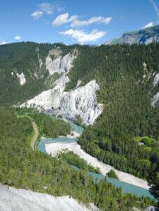 gorges du Rhin Versam