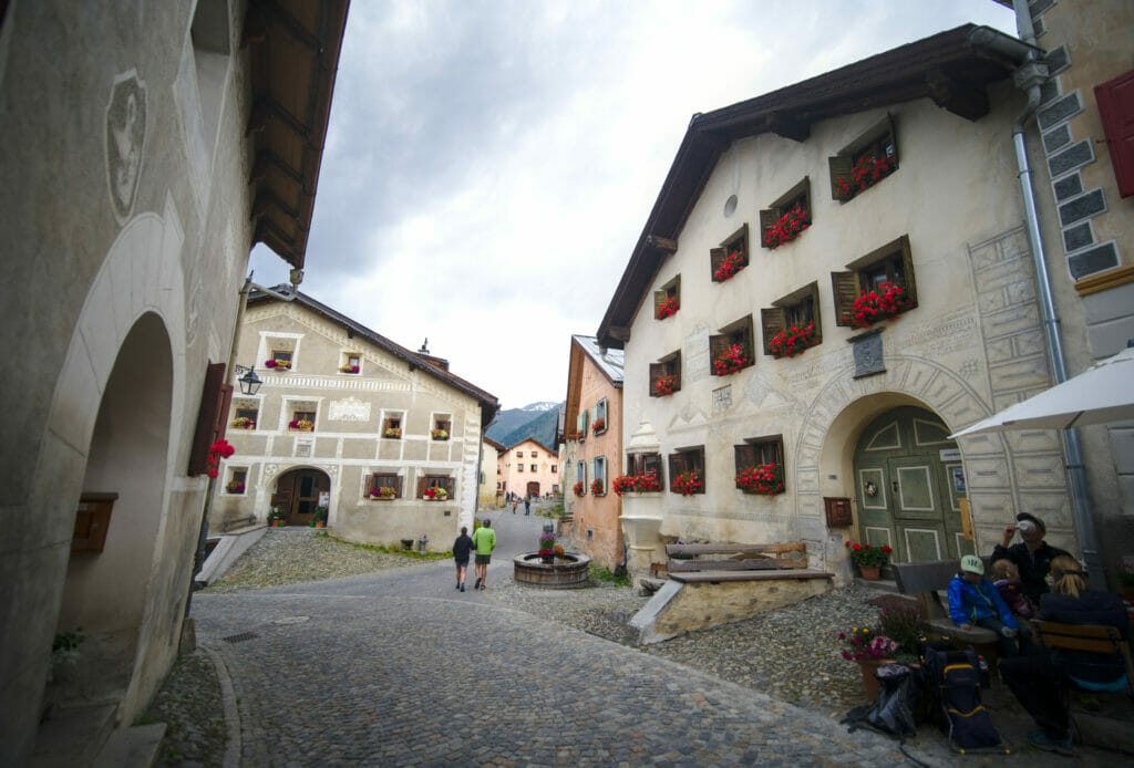 le village de Guarda