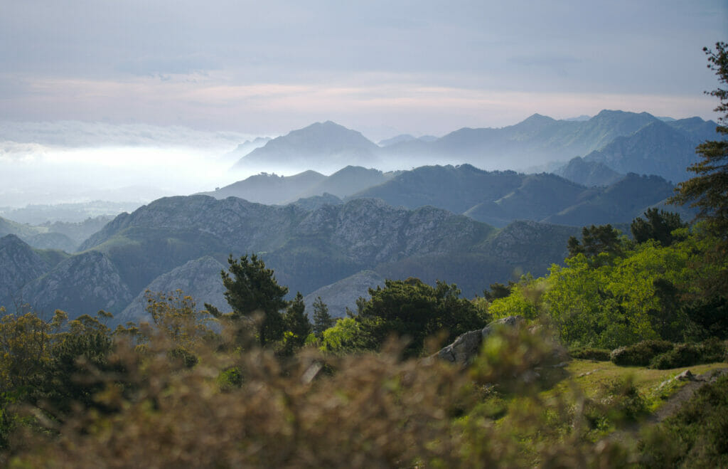 lever de soleil asturies