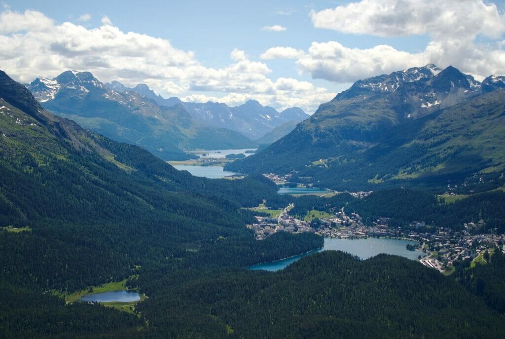 lacs st.Moritz