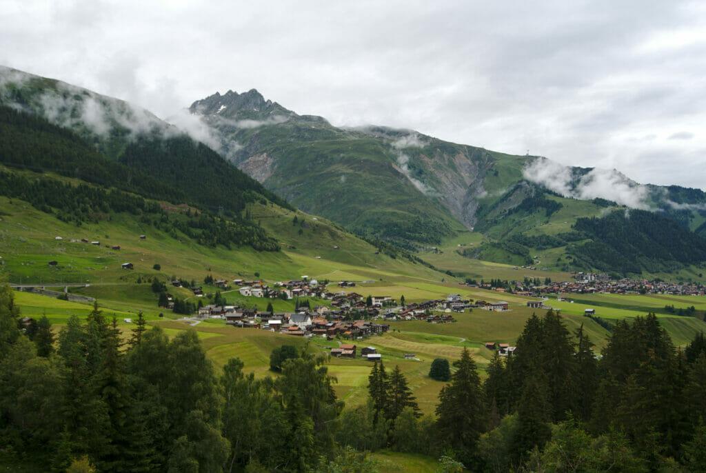 vallée oberalp