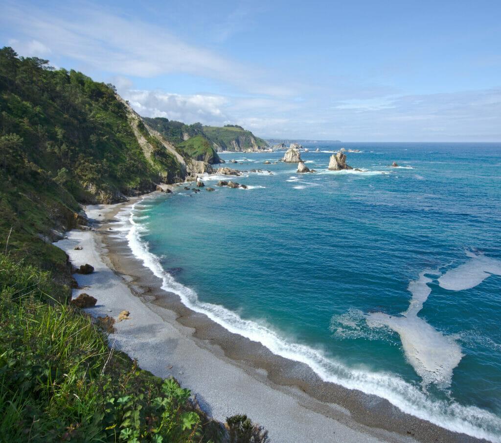 playa silencio asturies