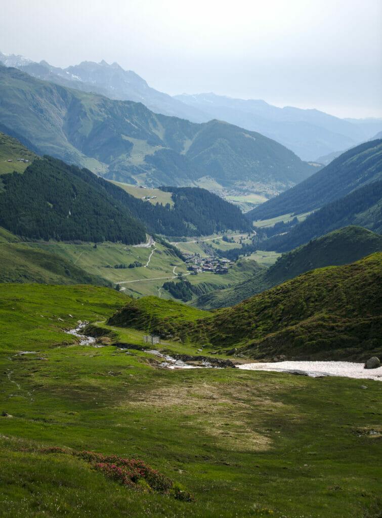 vallée du Rhin antérieur