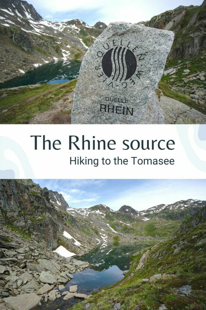 Tomasee Rhine source