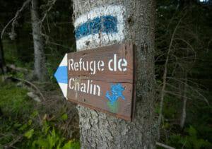 balisage rando alpine chalin