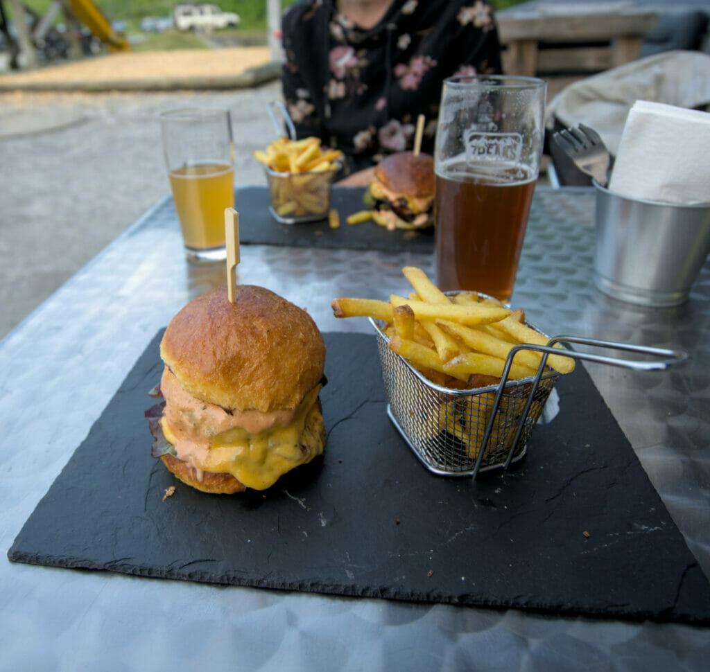 les burgers de Chindonne