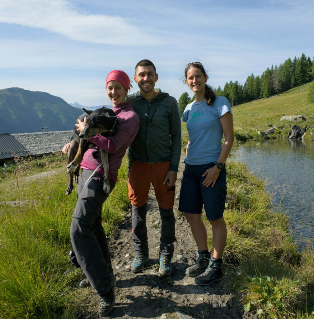 Céline l'accompagnatrice en montagne de alpes attitude