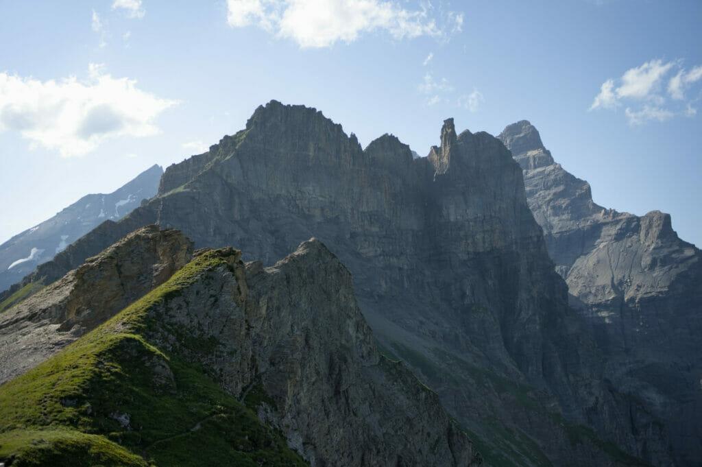 montagnes du col du Jorat
