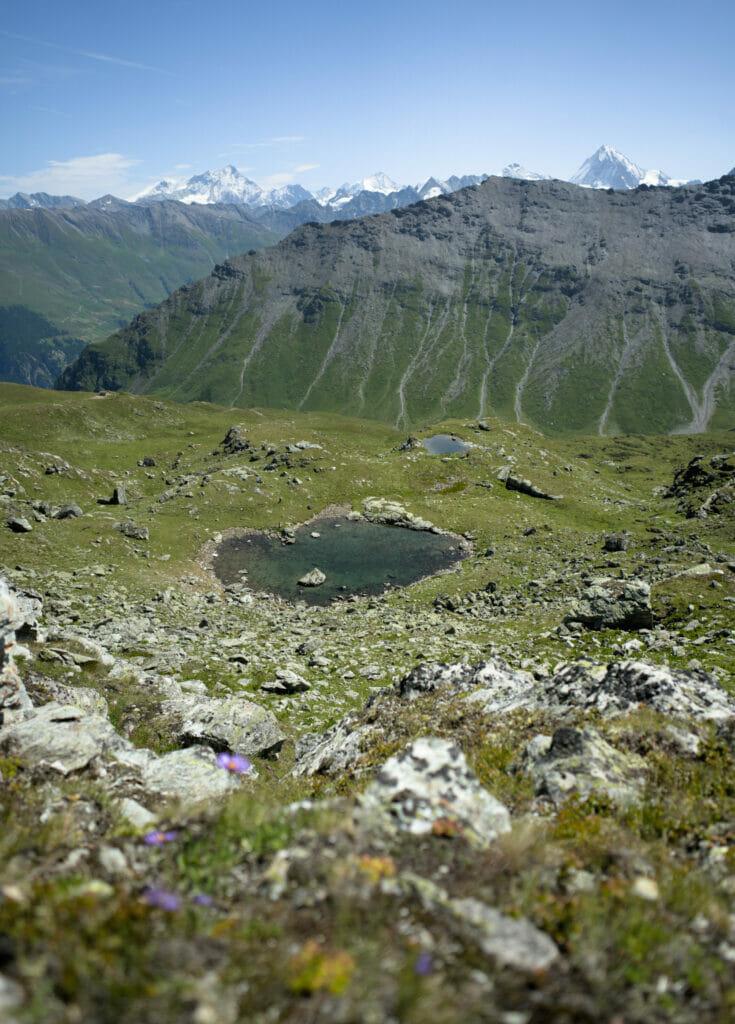 petit lac col de la Meina