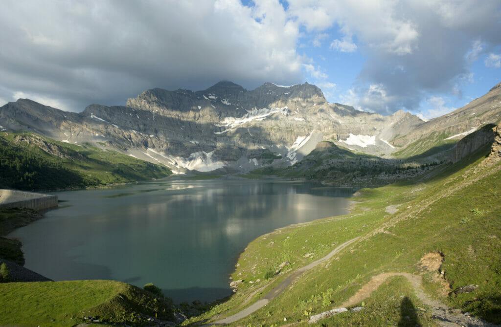 le lac de Salanfe