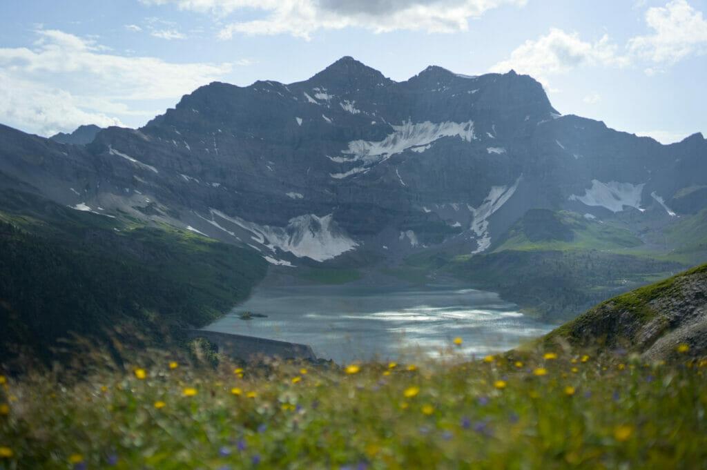 lac de Salanfe et tour Salière